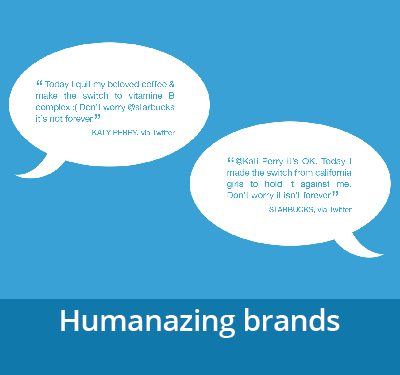 Humanizing brands